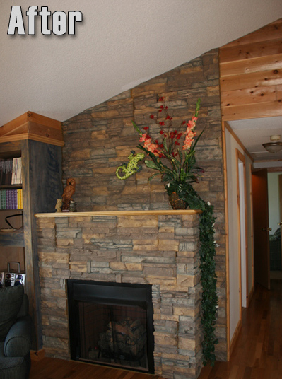 Makemania Home Fireplace And Interior Wall With